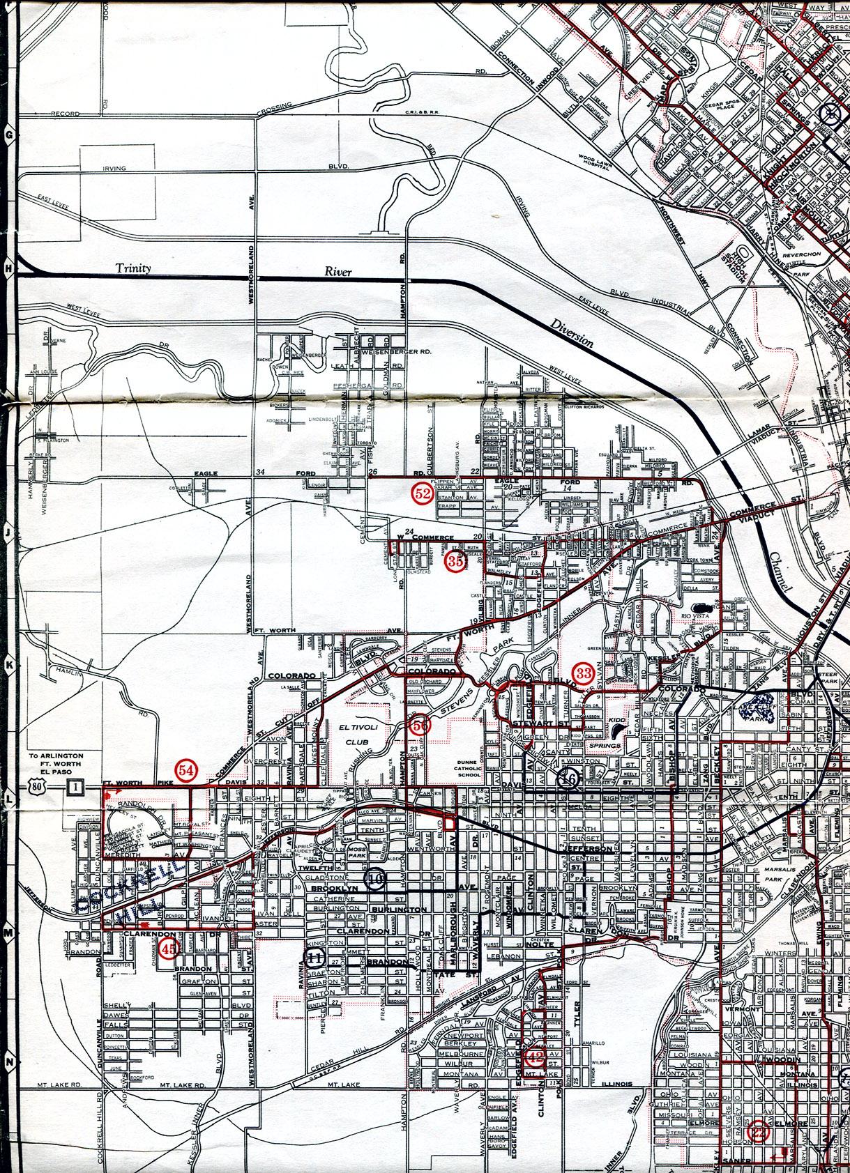 1973 Standard Oil West Central US  Vintage Road Map