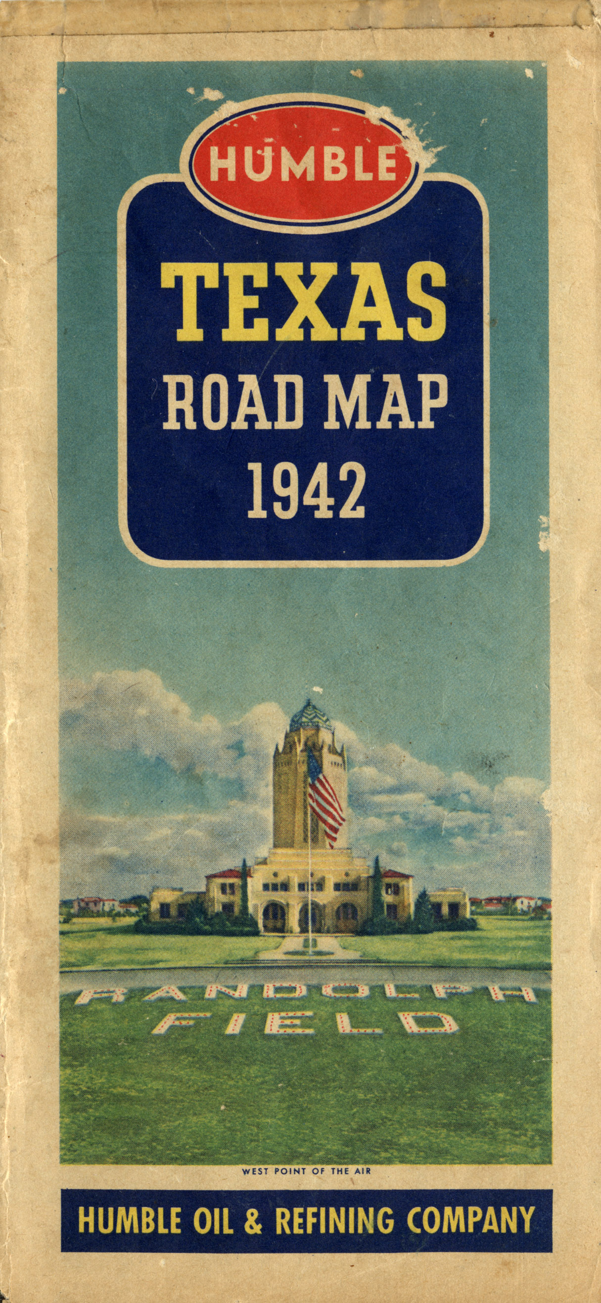 map cover 1942 texas